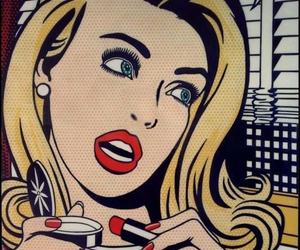 pop art, comic, and art image