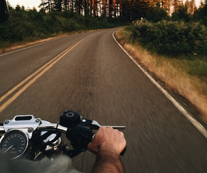 highway, moto, and motorcycle image