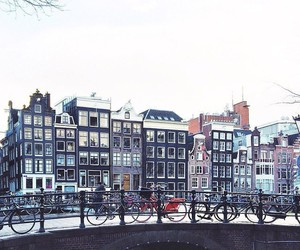 amsterdam, architecture, and road image