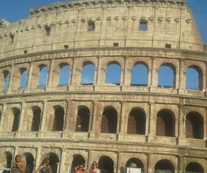 city, rome, and colosseo image