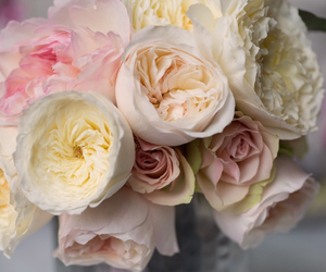 bouquet, roses, and summer image