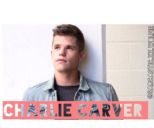 teen wolf and charlie carver image