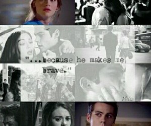 teen wolf and lydia martin image
