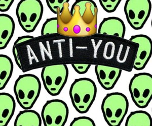 alien, anti, and crown image
