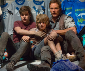 jurassic world, family, and cute image