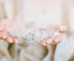 accessories, bridal, and crown image