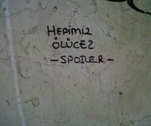 spoiler and turkce image