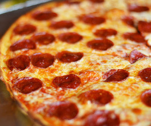 food, junk, and pepperoni image