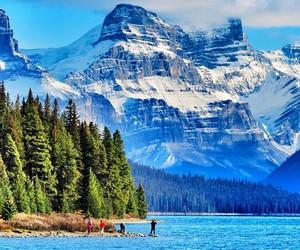 beautiful, lake, and place image