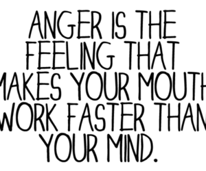 anger, mind, and mouth image