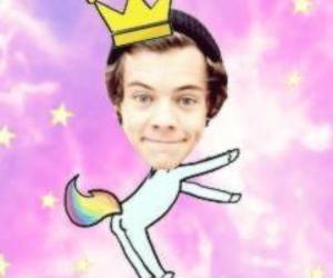 unicorn, Harry Styles, and one direction image