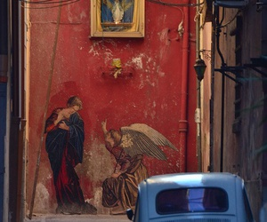 photography, napoli, and street image