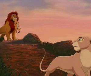 disney, the lion king 2, and simba's pride image