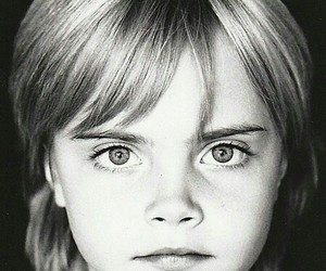 cara delevingne, model, and baby image