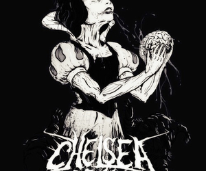 chelsea grin, snow white, and band image