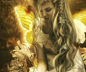 butterfly, fairy, and fantasy image
