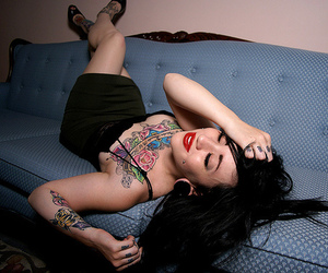 Hot, girl, and piercing image