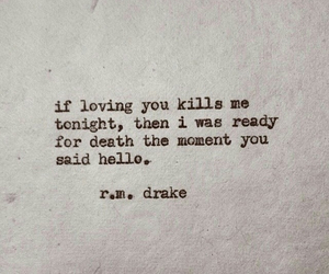 love, quotes, and death image