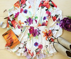 cute, playsuit, and fashion image