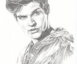 drawing, isaac, and teen wolf image