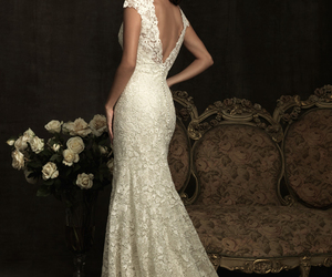 fashion, bride, and dress image