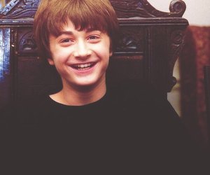 book, harry potter, and daniel radcliffe image