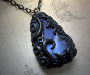 blue, crystal, and eldritch image