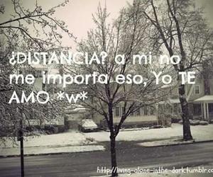 distancia and te amo image