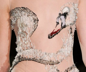 Swan, embroideries, and gilles spring 2012 image
