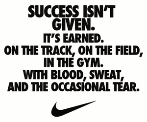 nike, motivation, and success image