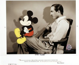disney, mickey mouse, and walt disney image
