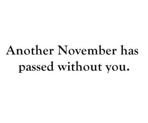 november, without, and you image