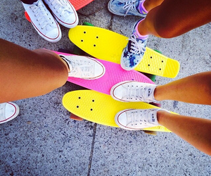 converse, girl, and summer image