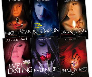 book, evermore, and alyson noel image