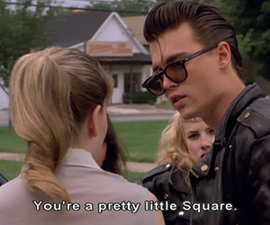 johnny depp, cry baby, and movie image