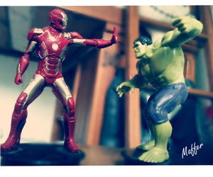 heroes, iron man, and juguetes image