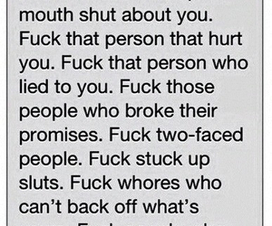 fuck, promises, and quote image