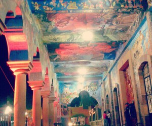 city hall, murals, and puebla image