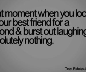 best friend, friendship, and laugh image