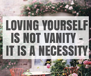 quote and vanity image