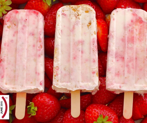 strawberry cheesecake, summertime, and deliciousness image