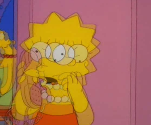 lisa, simpsons, and grunge image