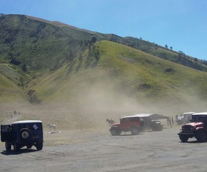 cool, bromo, and indonesia image