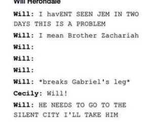 funny, isabelle, and jace image