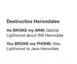 funny, isabelle, and shadowhunters image