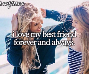 best friends, girly, and forever and always image