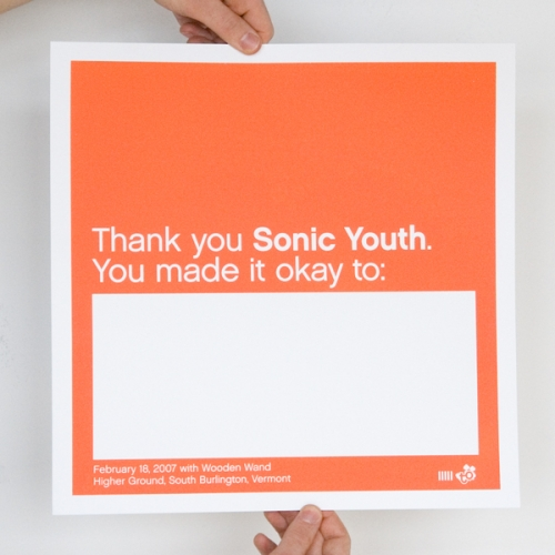 poster and sonic youth image