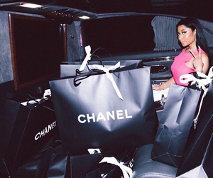 chanel, nicki minaj, and shopping image