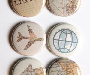 airplane, travel, and world image