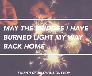 bridges, fall out boy, and home image